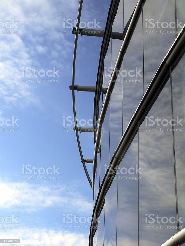 Details of skyscraper stock photo