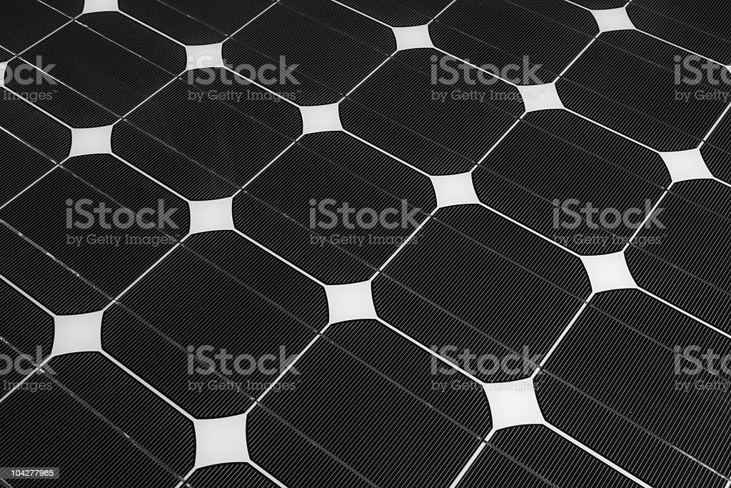 Details of Solar Panel stock photo