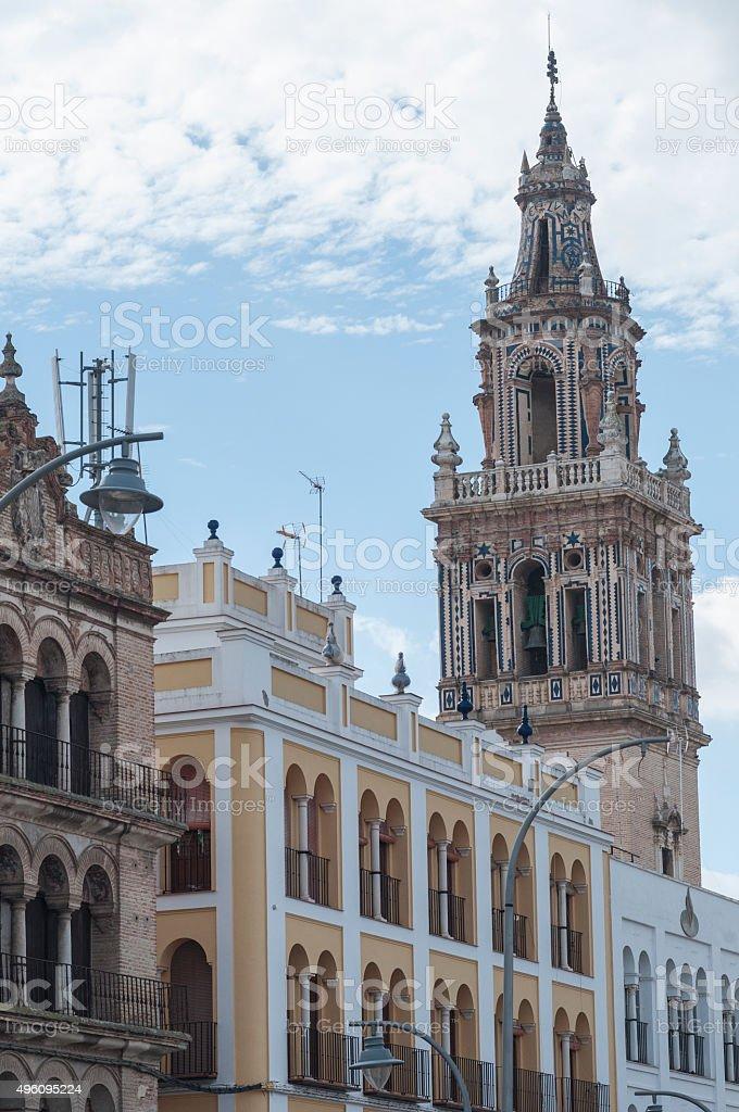 Details of the city of Ecija stock photo