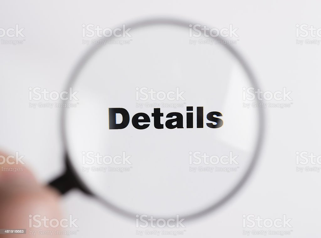 Details royalty-free stock photo