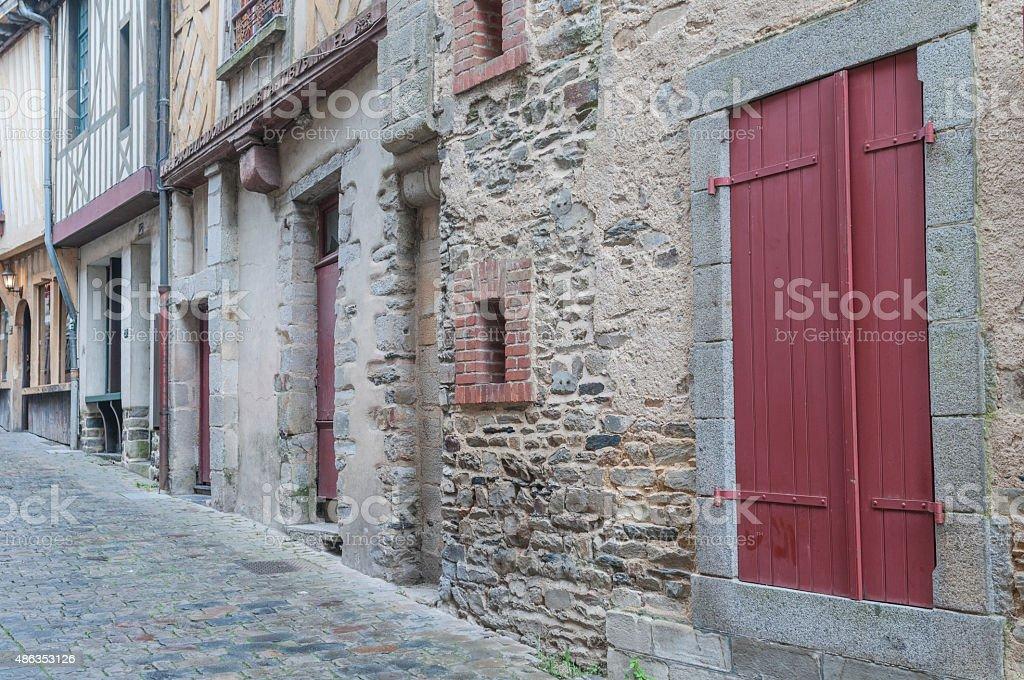 Details Vitre France stock photo