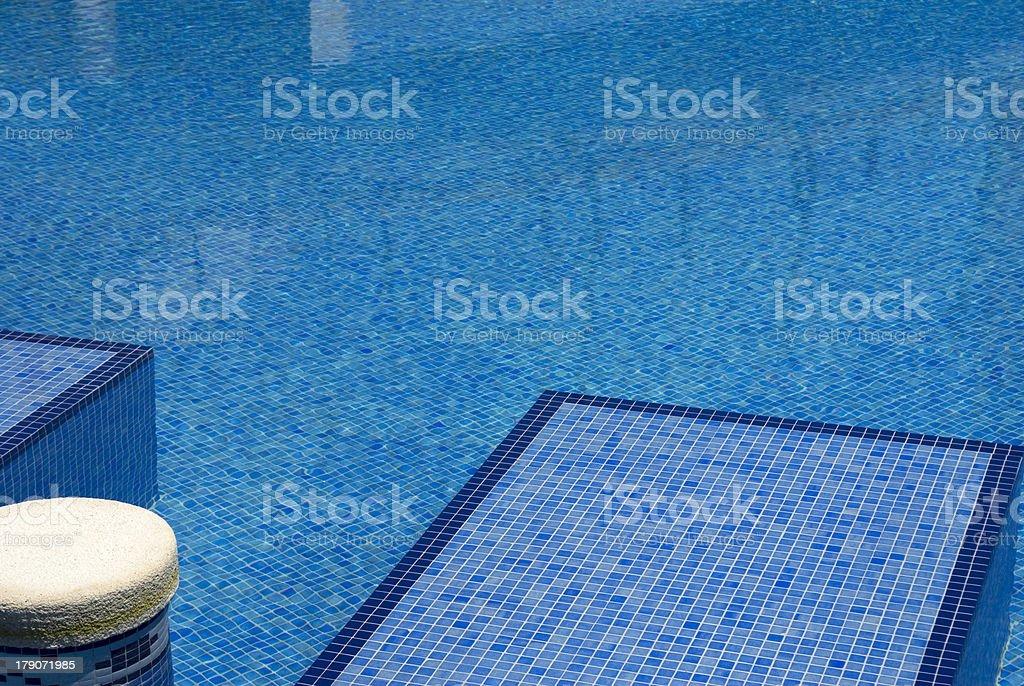 Detalle de una piscina royalty-free stock photo