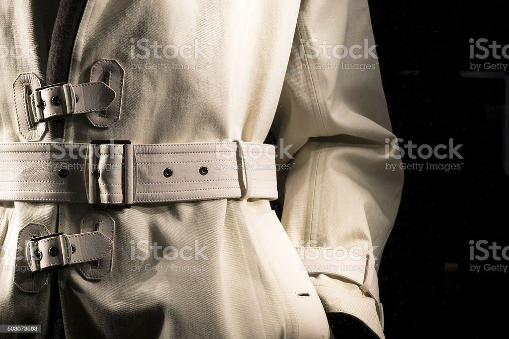 Detective's Jacket (2) stock photo