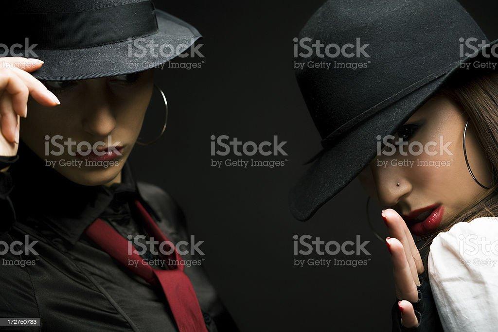 Detectives royalty-free stock photo