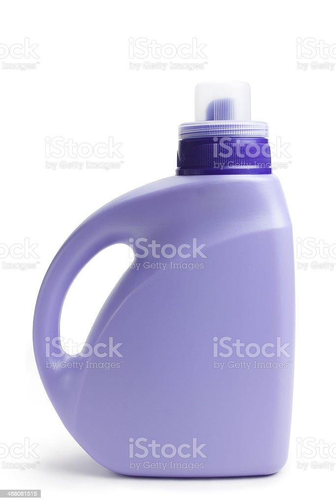 Detergent bottle stock photo