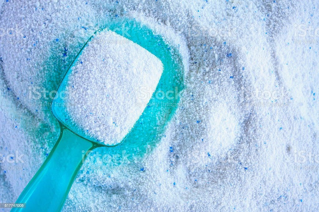 detergent for laundry washer stock photo