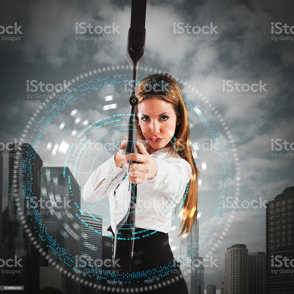 Determination and ambition stock photo