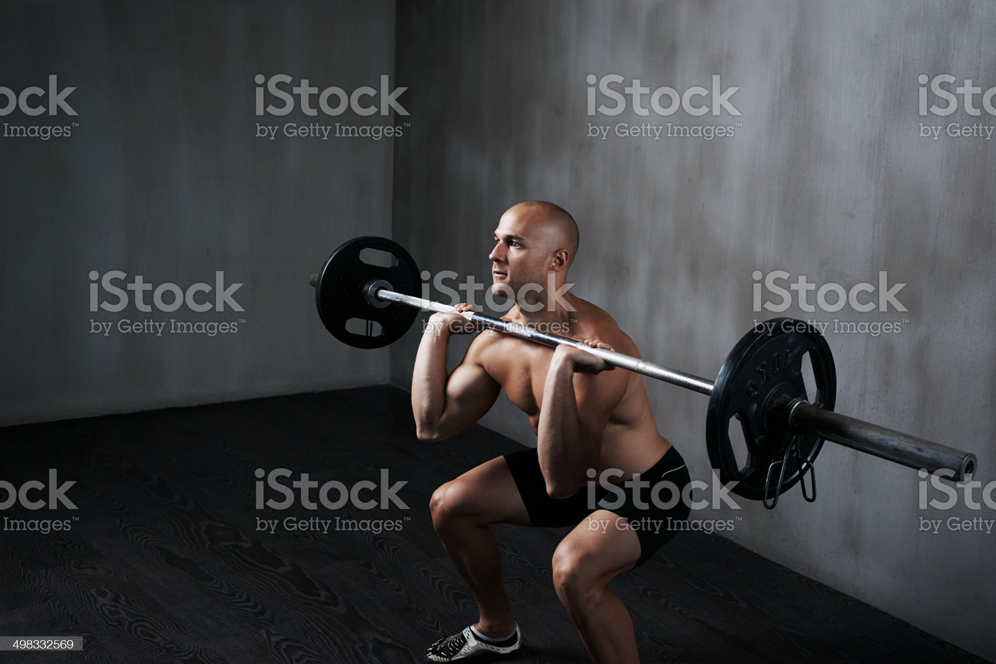 Determination and an iron will royalty-free stock photo