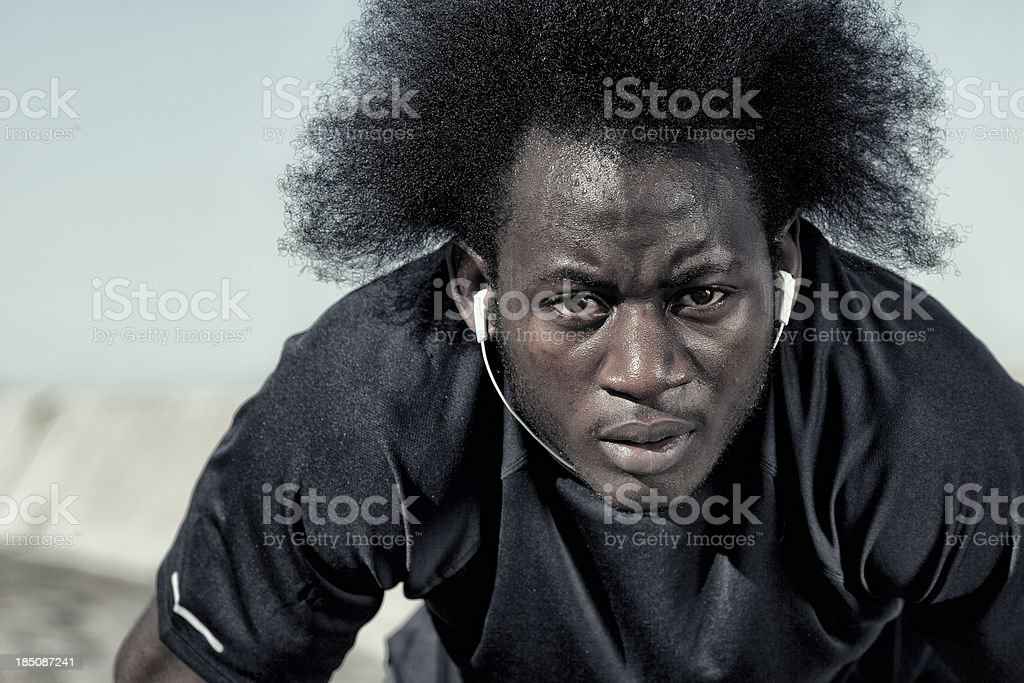 Determination royalty-free stock photo