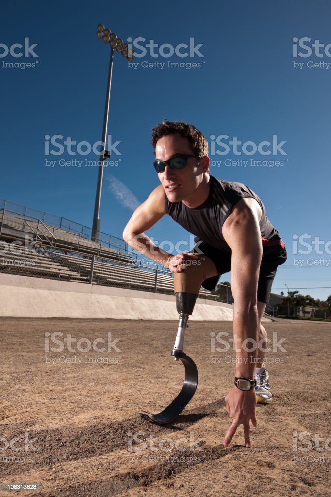Determined royalty-free stock photo
