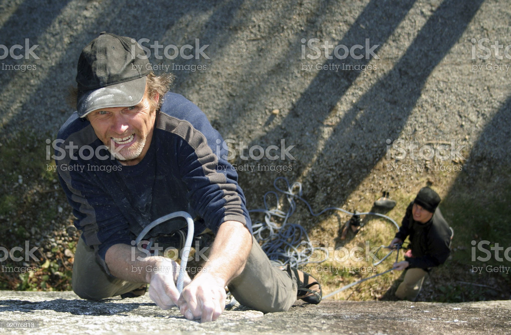 Determined. royalty-free stock photo