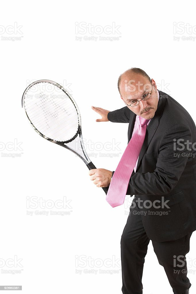 Determined to win royalty-free stock photo