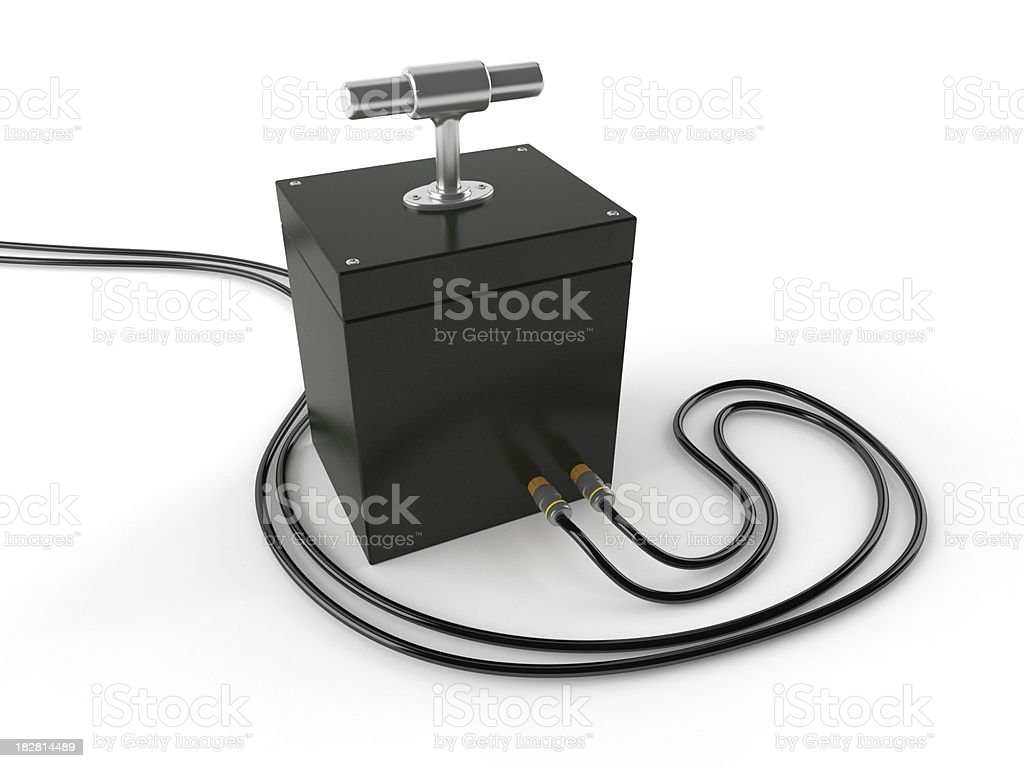 Detonator royalty-free stock photo