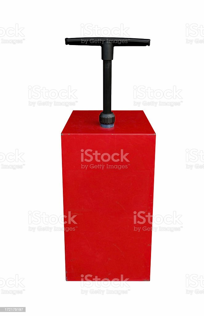 Detonator with Path stock photo
