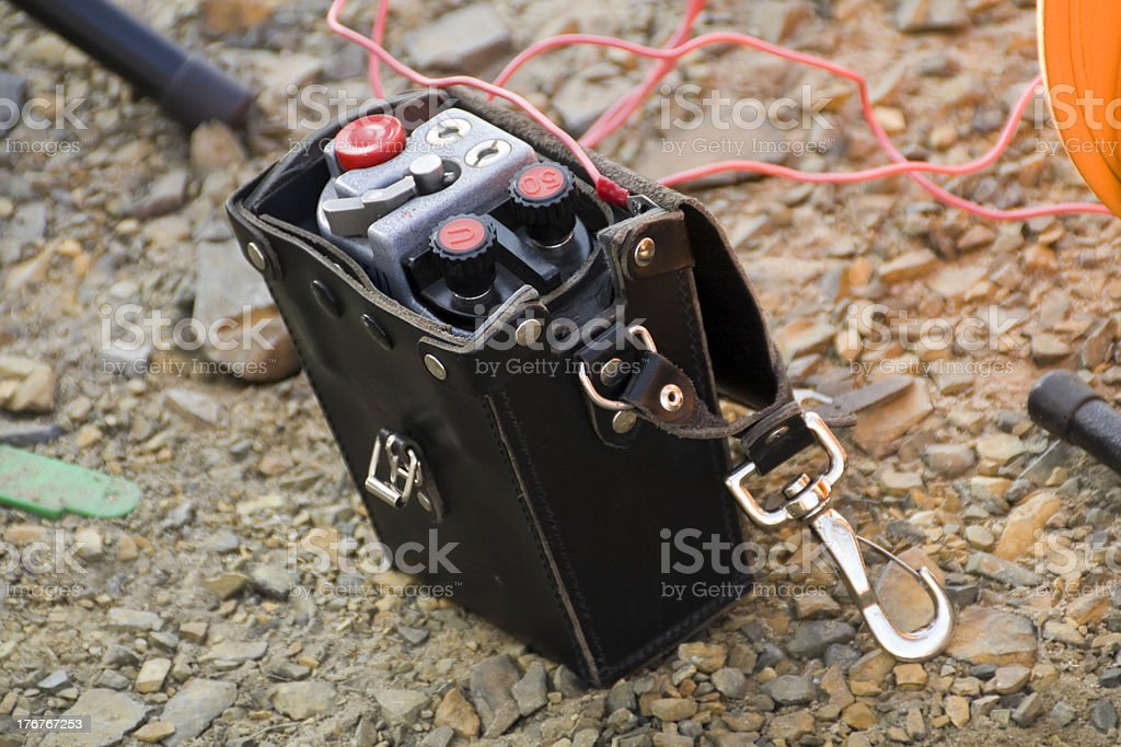 detonators stock photo