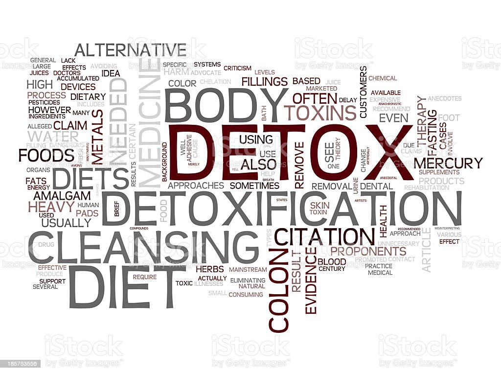 Detox and loosing weight stock photo