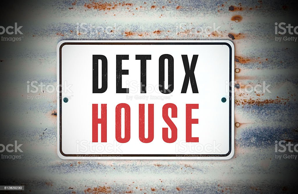 Detox House stock photo
