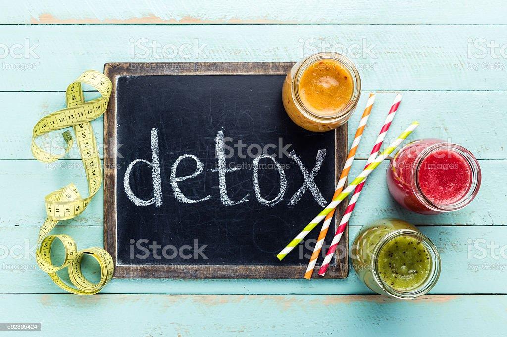 detox smoothie drinks stock photo