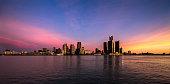 Detroit during Blue Hour