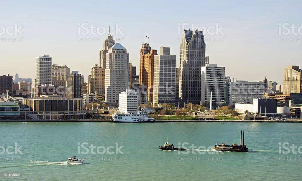 Detroit, Michigan stock photo