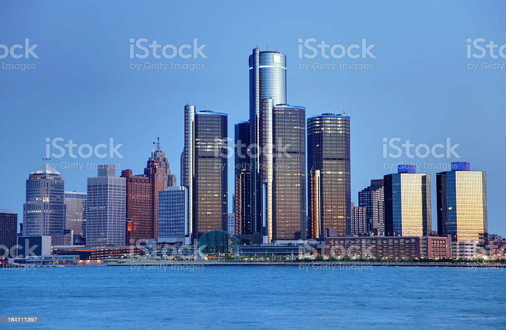 Detroit royalty-free stock photo
