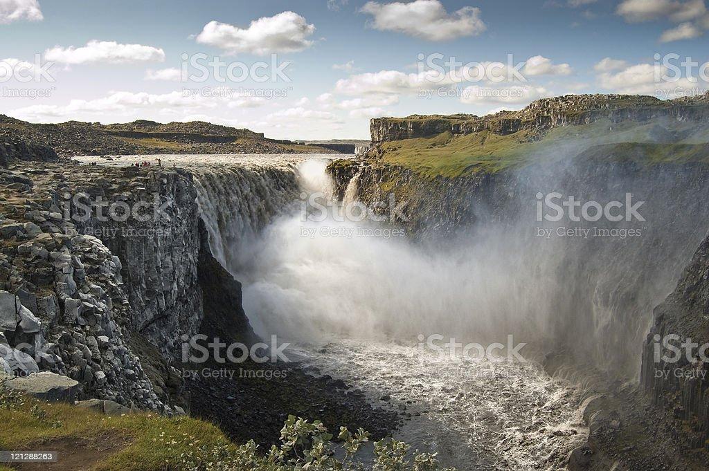 Dettifoss Waterfall (Iceland) stock photo