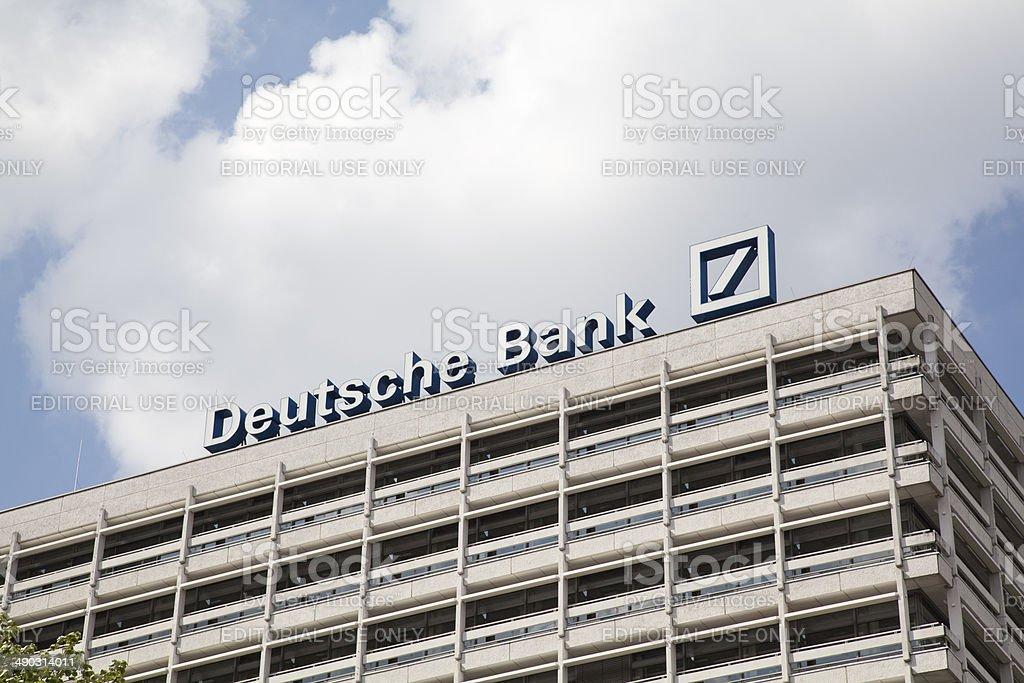 Deutsche Bank Building stock photo