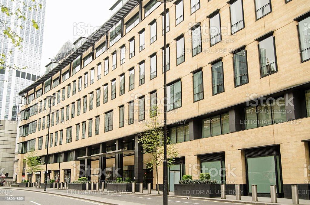 Deutsche Bank HQ, City of London stock photo