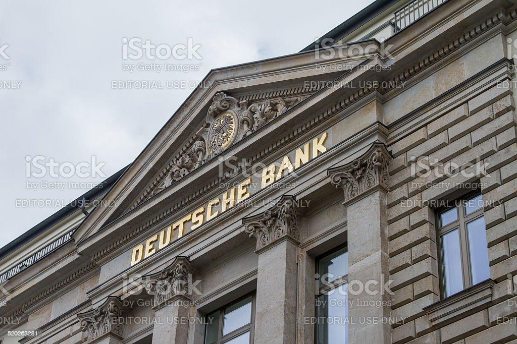 Deutsche Bank office stock photo