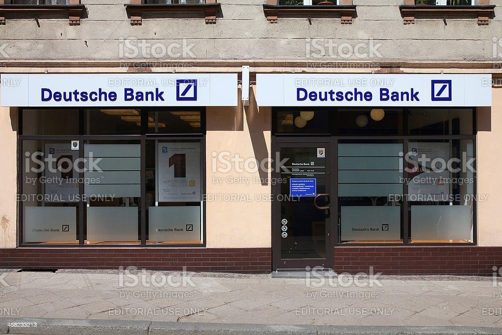Deutsche Bank royalty-free stock photo
