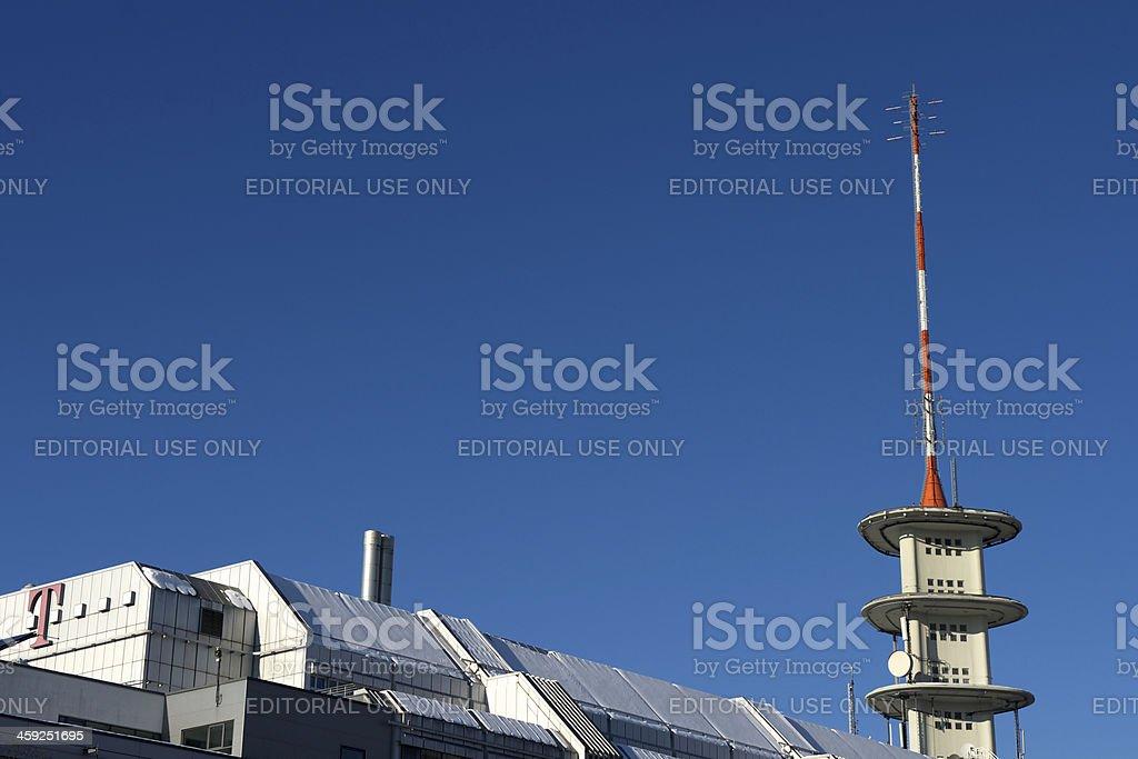 Deutsche Telekom building stock photo