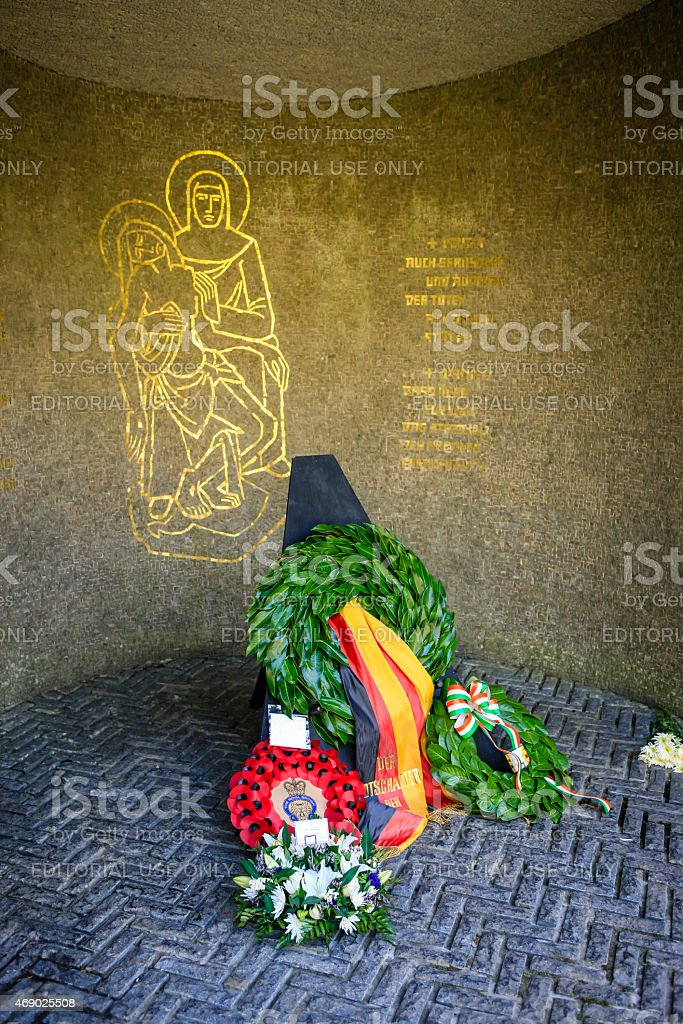 Deutscher Soldatenfriedhof at Glencree stock photo
