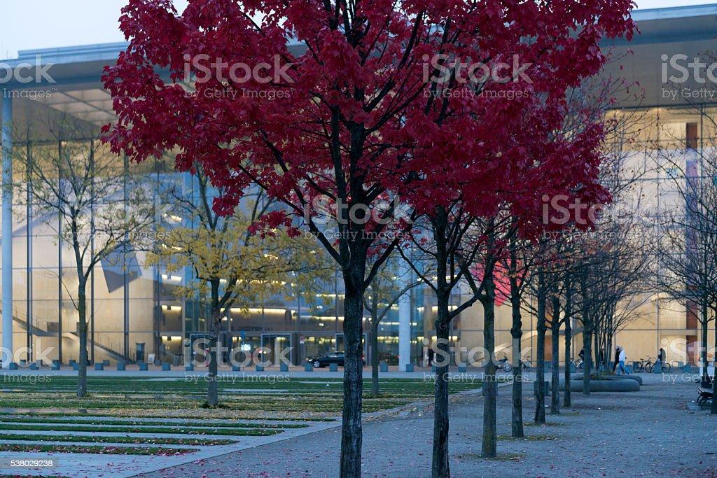Deutschland, Berlin, Paul-Loebe-Haus im Regierungsviertel stock photo
