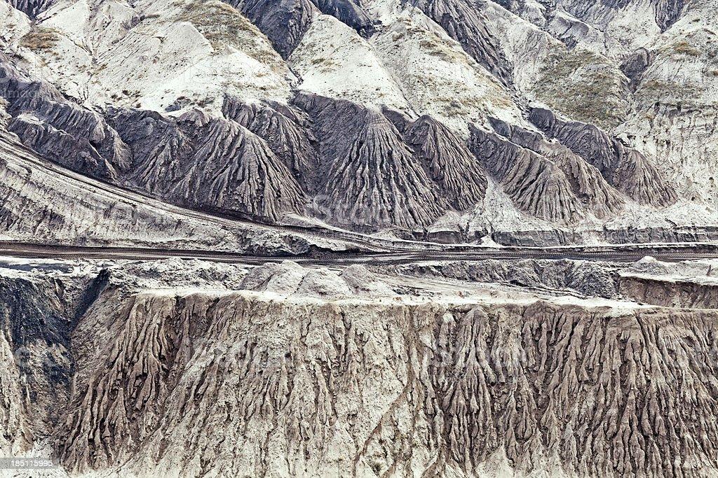 Devastated landscape royalty-free stock photo