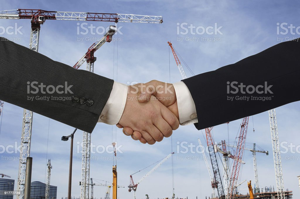 Developers agreeing on the creation of a new project royalty-free stock photo
