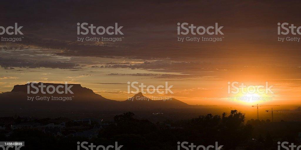 Desarrollo de Cape Town foto de stock libre de derechos