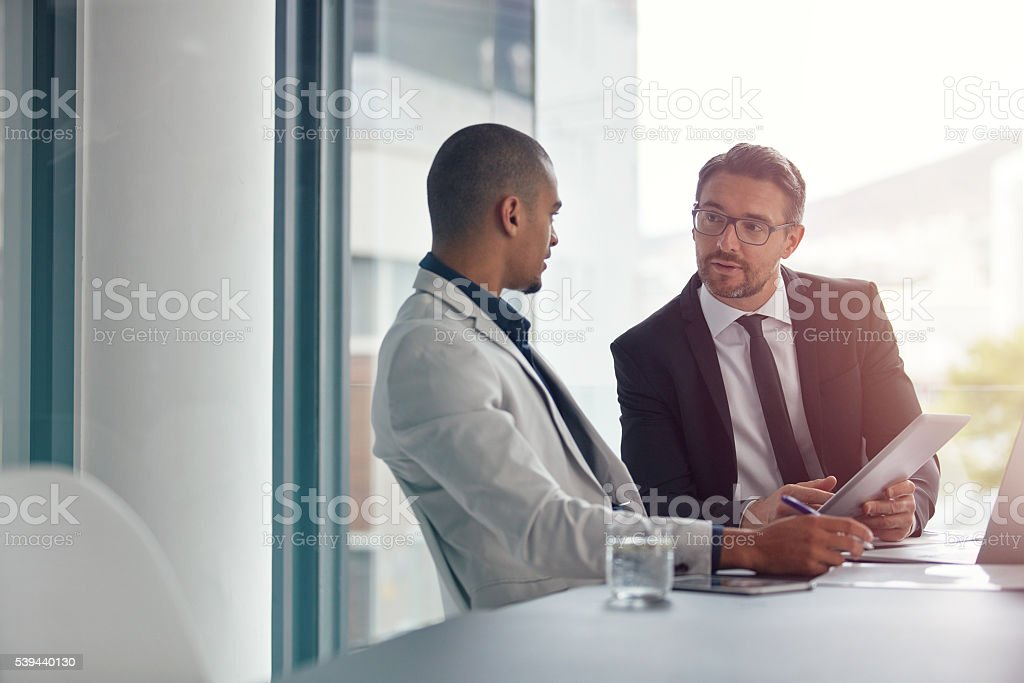Developing ideas stock photo