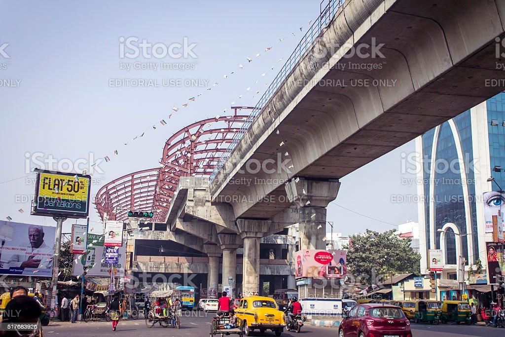 Developing Kolkata stock photo