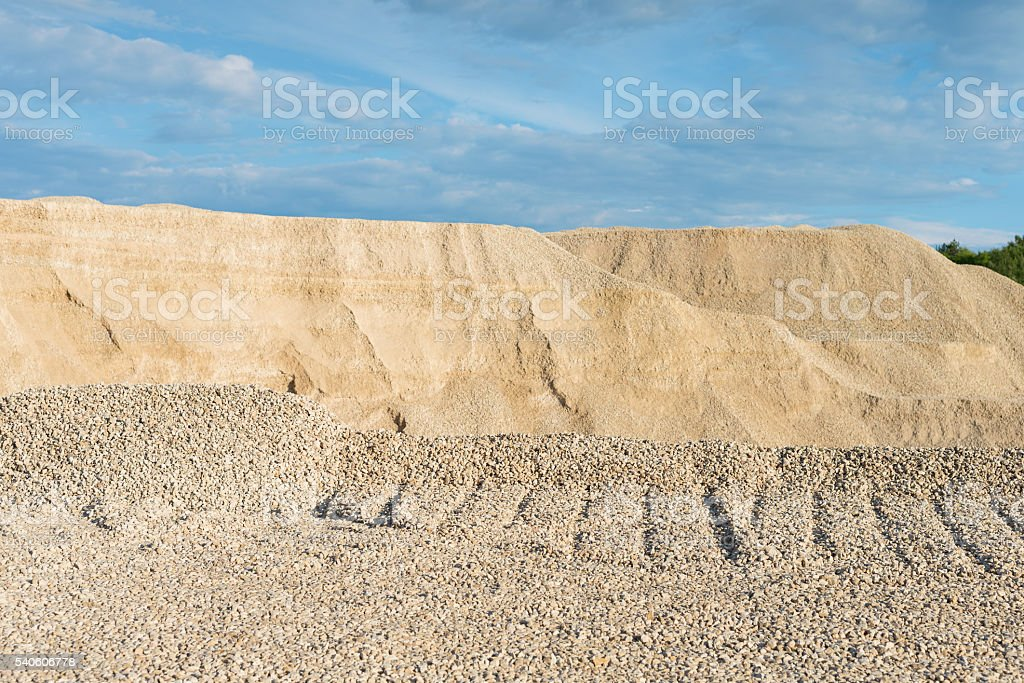 development of rock stock photo
