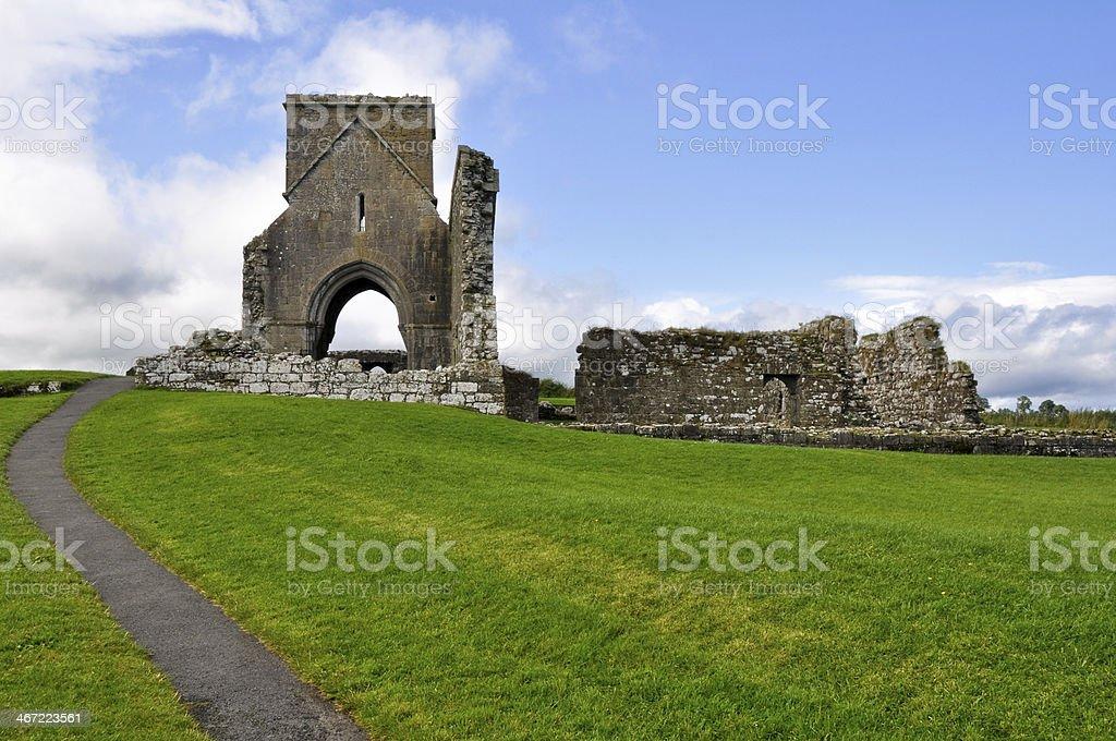 Devenish Island Monastic Site, Co.Fermanagh, Northern Ireland stock photo