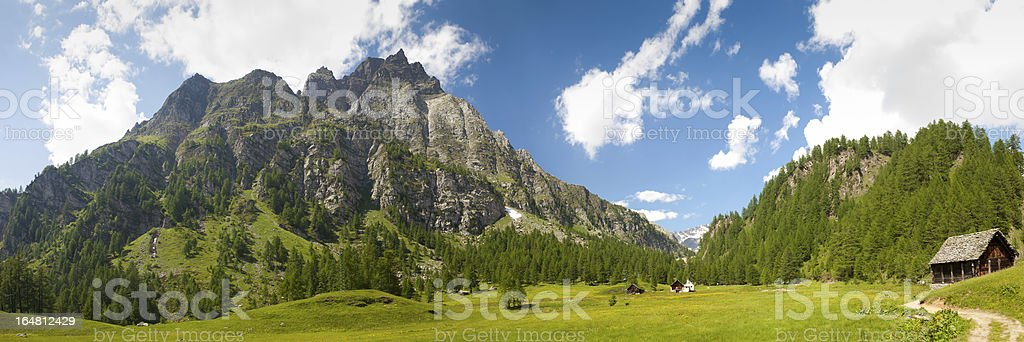 Devero Alps stock photo