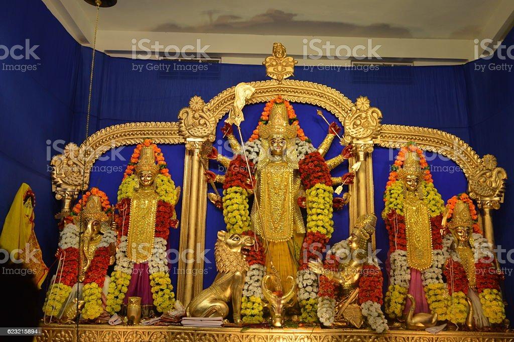 Devi Durga stock photo