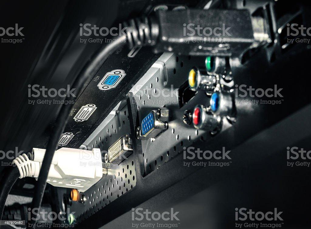 device backplane stock photo