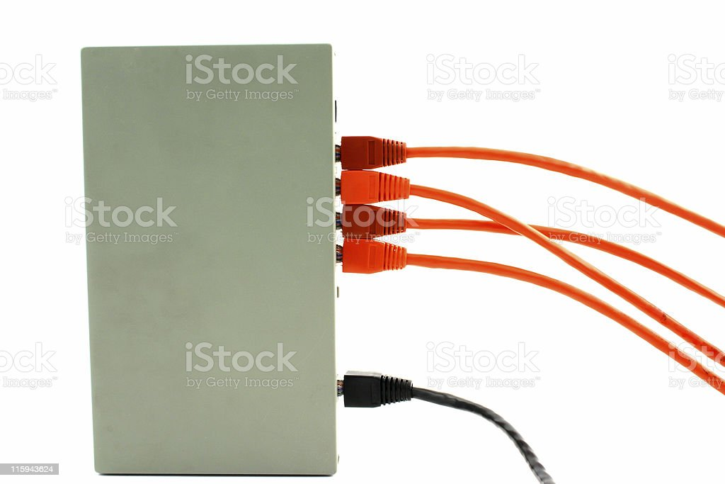 Device connection stock photo
