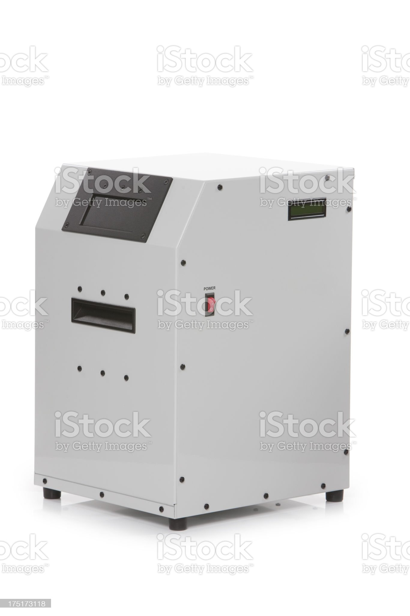 device for the destruction of hard disk XXXL royalty-free stock photo