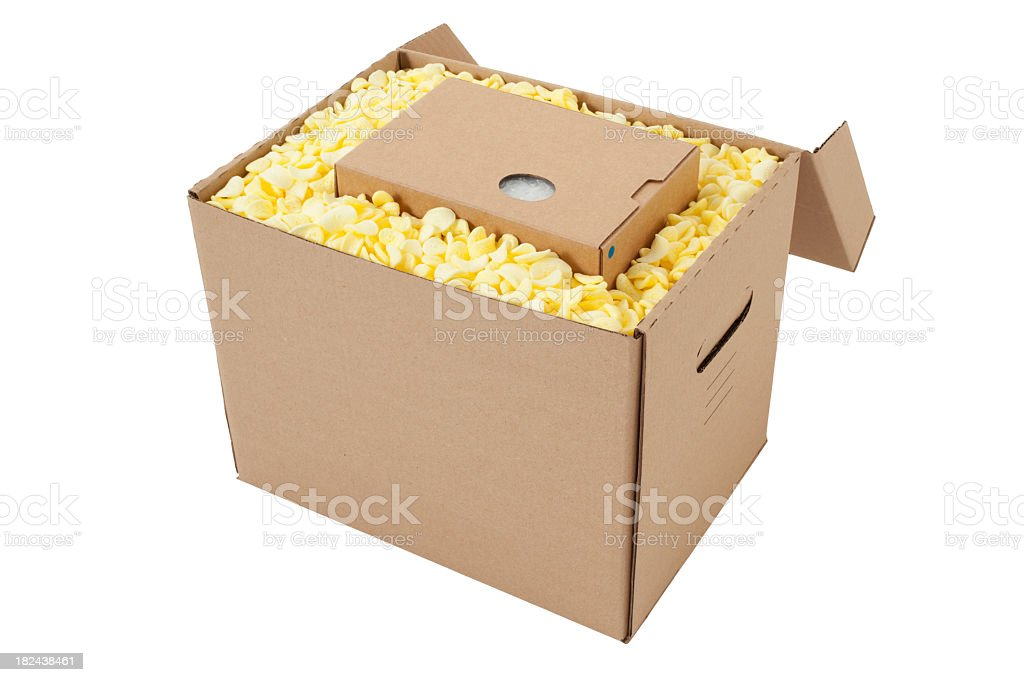 Device Packing royalty-free stock photo