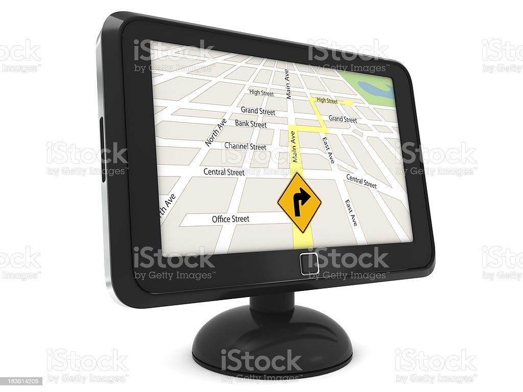 GPS Device royalty-free stock photo