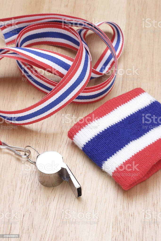 Device to repel government protests in Thailand. stock photo