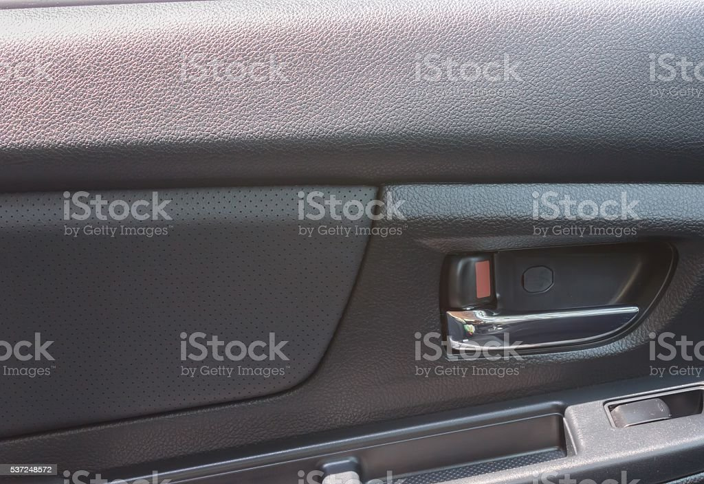 Devices for opening car doors stock photo