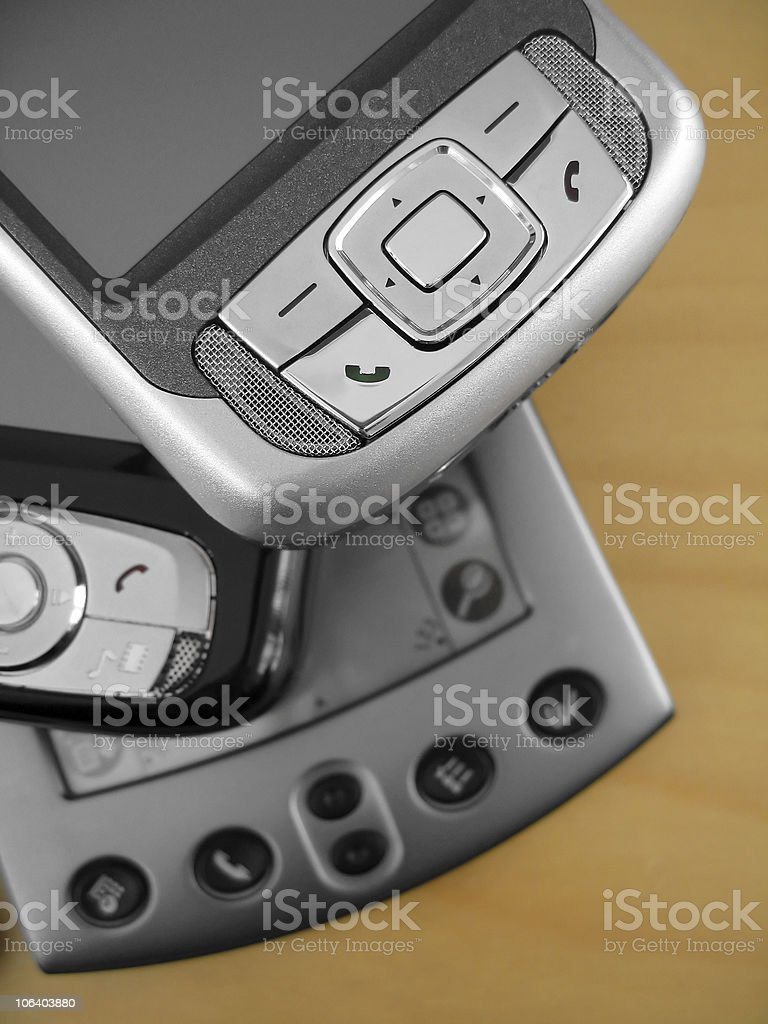 PDA Devices royalty-free stock photo